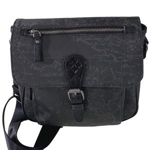 Patricia Nash Essone Crossbody Bag Signature Map